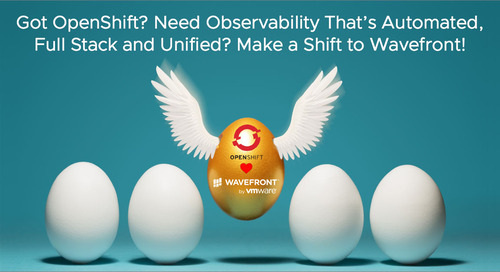 Got OpenShift? Need Observability That's Automated, Full Stack and Unified? Make a Shift to Wavefront!