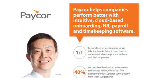 Paycor's All-in-One Platform Brochure