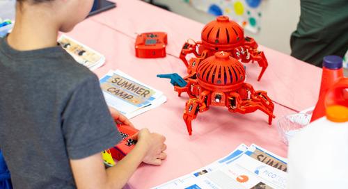 Hudson Montessori School's Maker Faire