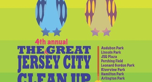 The 4th Annual Great Jersey City Clean Up
