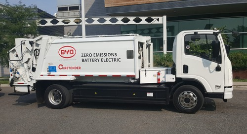 Jersey City Awarded $2 Million for New Electric Garbage Trucks to Improve Air Quality