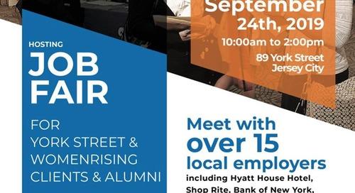 York Street Project + Women Rising's First Job Fair