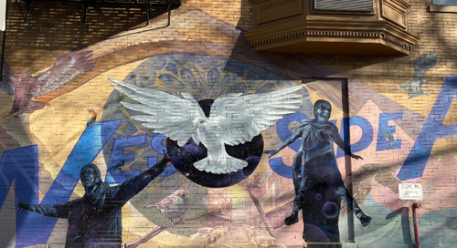 The House of Faith Mural Project on West Side Ave.