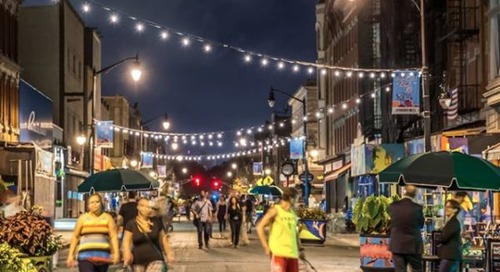 Jersey City to Expand Newark Avenue Pedestrian Plaza