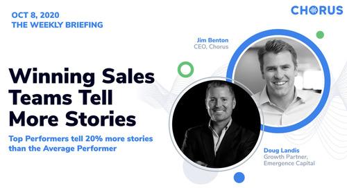 Winning Sales Teams Tell More Stories