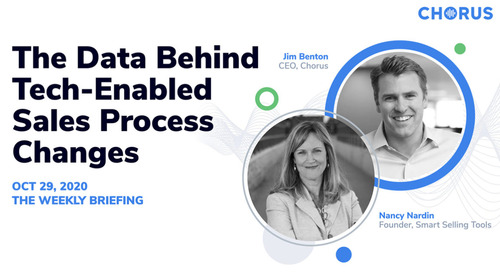 The Data Behind Tech-Enabled Sales Process Changes