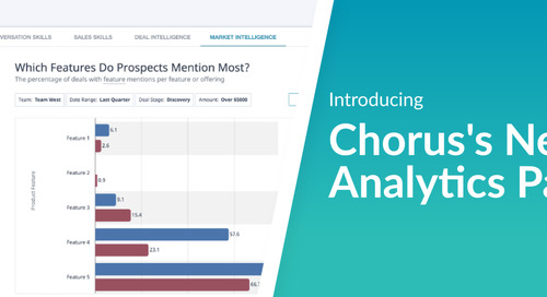 Announcing the New Chorus Analytics Page