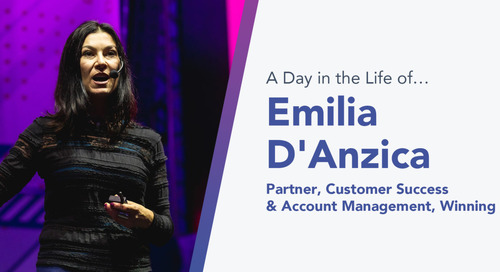 Winning by Design's Emilia D'Anzica Has No Fear of Constantly Seeking to Improve as a Customer Success Consultant