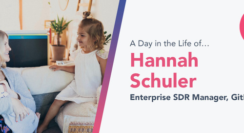 Curiosity, Openness and Authenticity Help GitLab's Hannah Schuler Fill Her Cup Daily — and Build a Successful Sales Career