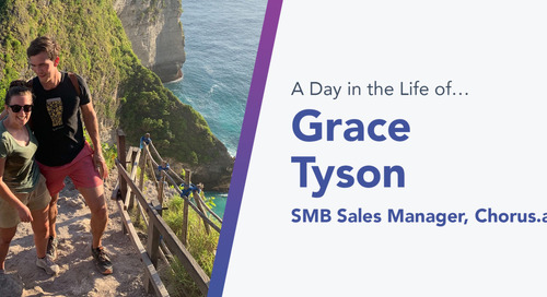 "Unknown, Defined: How Chorus.ai's SMB Sales Manager, Grace Tyson, Found the Answer to Her Career ""Problem"""