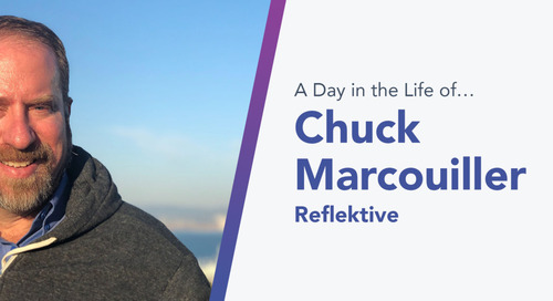 From Moving Big Rocks to Granting Wishes: How Chuck Marcouiller, Reflektive's Senior Director of Sales Enablement, Does It All