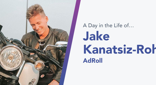 A Twist of Fate That Ignited a Hot Career: How AdRoll's Jake Kanatsiz-Rohan Discovered His Passion for Sales