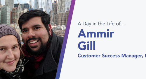 Influitive's Ammir Gill Is All About Customer Success (and Coffee and Sushi, Too)