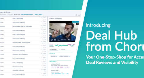 Introducing Deal Hub from Chorus