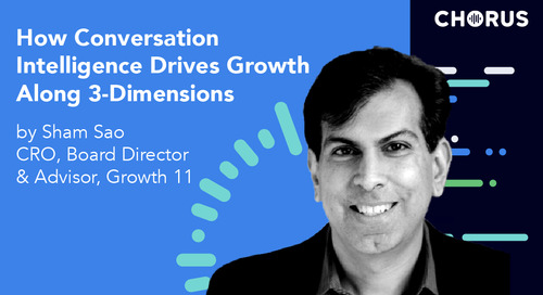 How Conversation Intelligence Drives Growth Along 3-Dimensions