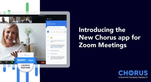 Introducing the New Chorus app for Zoom Meetings