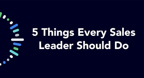 5 Things Every Sales Leader Should Do