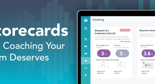 Plan, Implement & Measure Your Sales Enablement Programs with Chorus' Coaching Initiatives