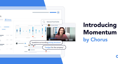 """Momentum by Chorus helps you put the """"R"""" back in your CRM"""