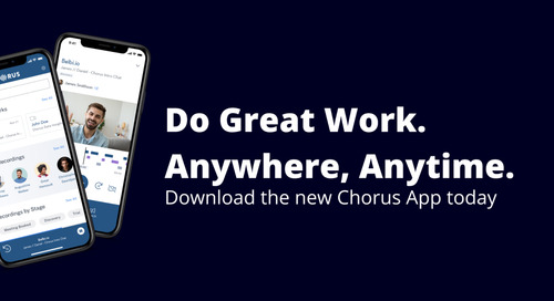 Introducing The New Chorus Mobile App