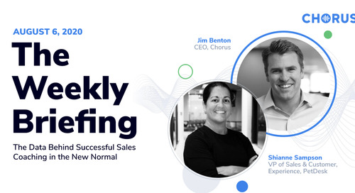 The Data Behind Successful Sales Coaching in the New Normal