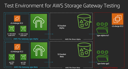 Bristol Myers Squibb increases performance and cost savings using AWS Storage Gateway