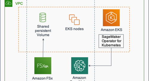 Using high-performance storage for machine learning workloads on Kubernetes