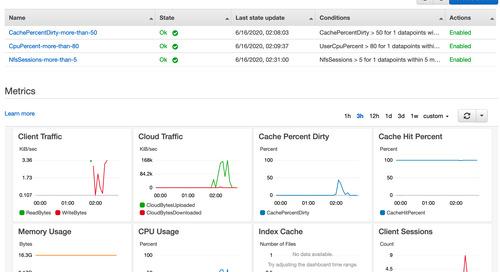 AWS Storage Gateway provides simplified monitoring for File Gateway