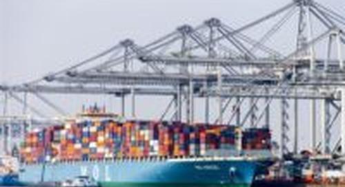 Export groeit bijna 2 procent