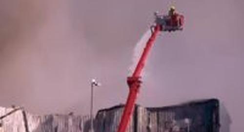 Kloosterboer getroffen door grote brand (update)