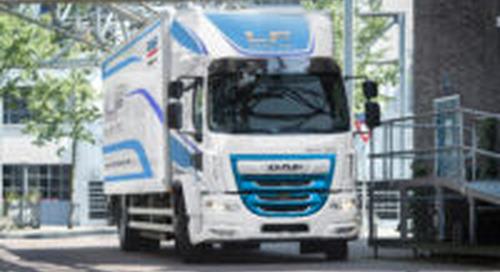 DAF toont een complete serie elektrische trucks op IAA
