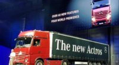 IAA primeur: nieuwe Mercedes-Benz Actros