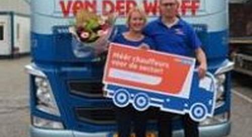 Wervingscampagne vrachtwagenchauffeur overtreft doelstelling ruimschoots