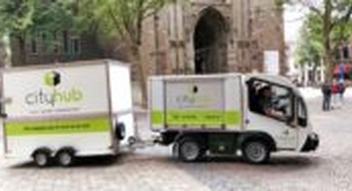 Utrecht denkt aan stelsel van stadsdistributiecentra (video)