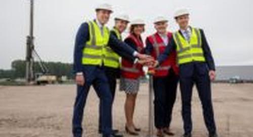 Hema slaat eerste paal voor nieuw dc in Nieuwegein