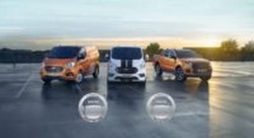 Ford bedrijfswagens sleept twee prijzen in de wacht