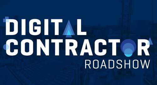 Register now for the 2019 Digital Construction Roadshow!