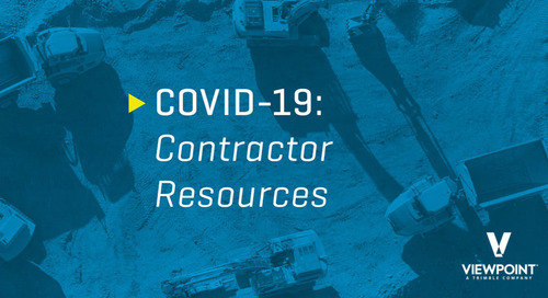 COVID-19 Contractor Resources