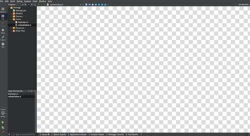 Unsolved Qt Creator Form View problem