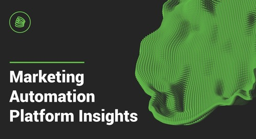 Demand Spring Releases Marketing Automation Platform Insights Report