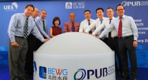 Singapore cuts the ribbon on new water reuse facility