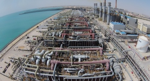 Az Zour North desal plant powers down to avoid oil spill
