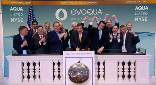 Evoqua IPO proceeds will be used to pay down debt