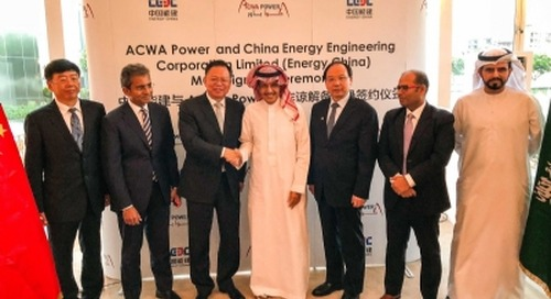ACWA Power advances Asia ambitions with Energy China MoU