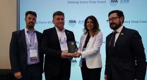 IDA awards recognise Aqualia, Dow, and Dr Frenkel