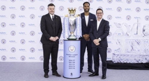 Xylem signs sponsorship deal with UK Premier League club Man City