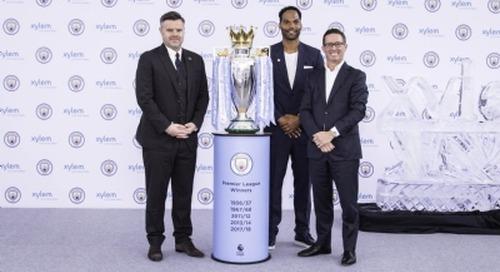 Xylem signs sponsorship deal with UK Premier League club Man City