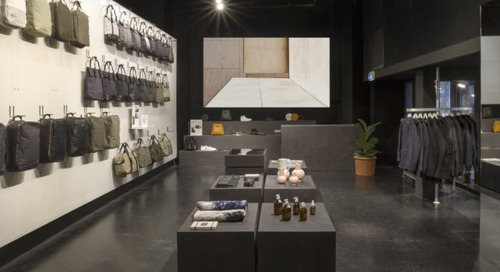 QWSTION Opens a Temporary Store Inside a Former Arthouse Cinema