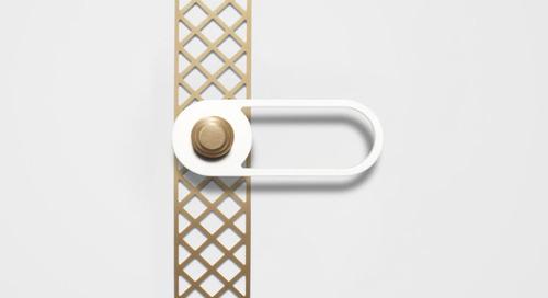 Modern Door Hardware with a Twist