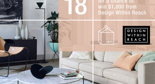 REMINDER – 2018 Reader Survey: Enter to Win $1,000 Gift Card from DWR